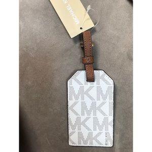 1f7103e1863c Michael Kors Other - Michael Kors vanilla logo MK luggage tag